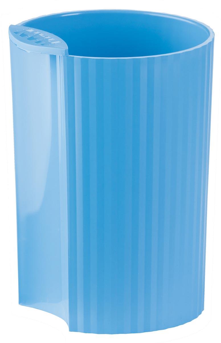 Han Loop pennenbakje fluo blauw