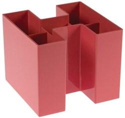 Gallery Bicolor pennenbakje, roze
