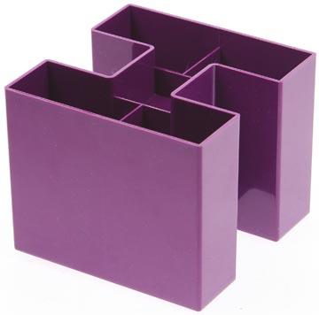 Gallery Bicolor pennenbakje, paars
