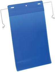 Durable documenthouder ft A4, met ophangbeugel, verticaal, pak van 50 stuks