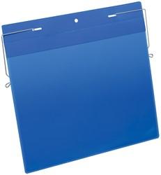 Durable documenthouder ft A4, met ophangbeugel, horizontaal, pak van 50 stuks