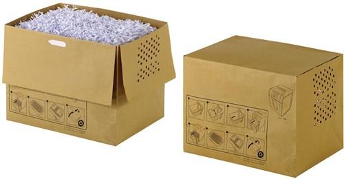 Rexel recycleerbare opvangzakken voor papiervernietiger 40 l, voor Auto+250 en 300X/M, pak van 20 zakken