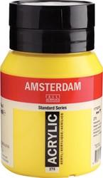 Amsterdam acrylinkt, flesje van 500 ml, primairgeel