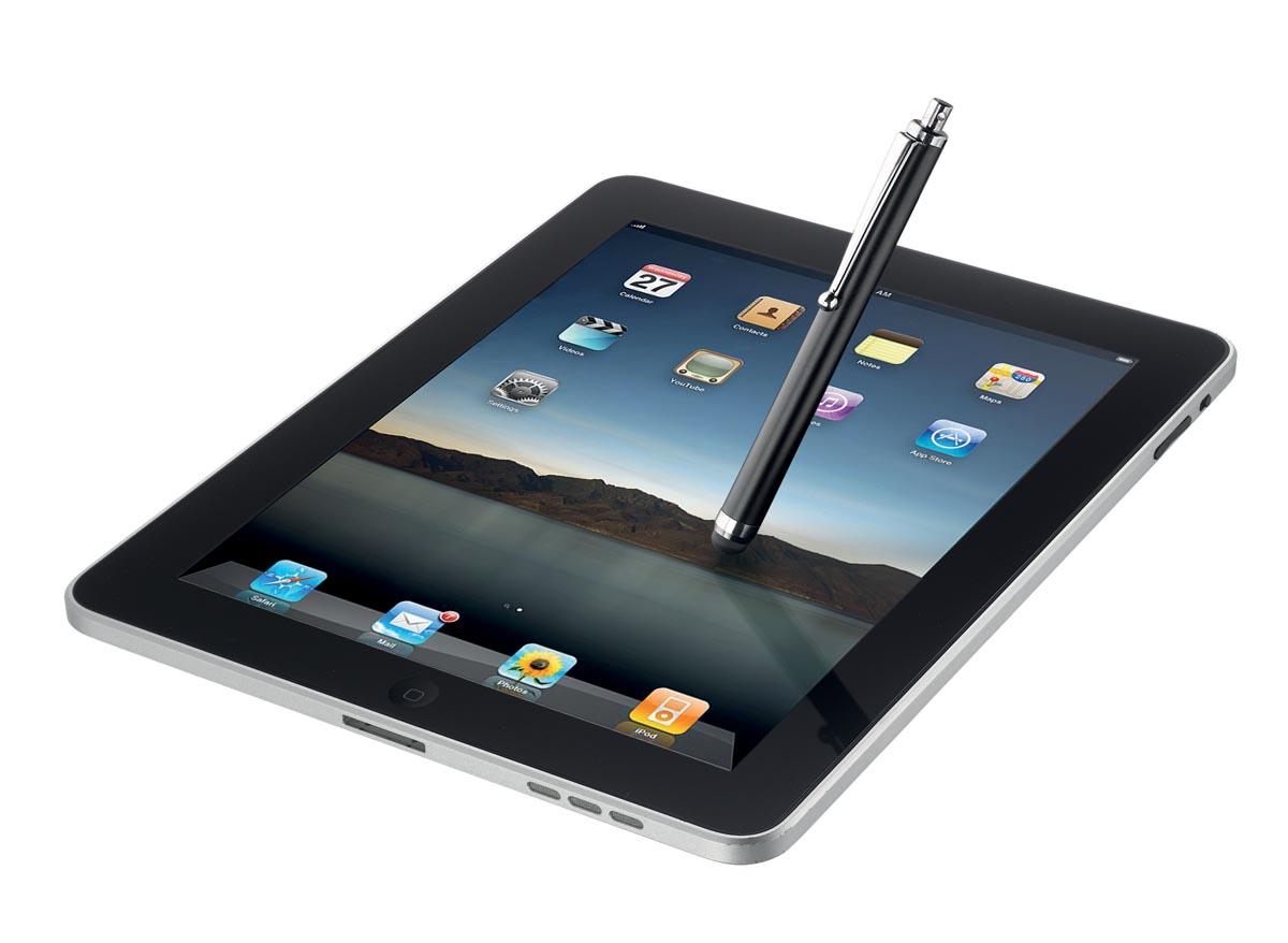 Trust stylus voor tablets en smartphones zwart-2