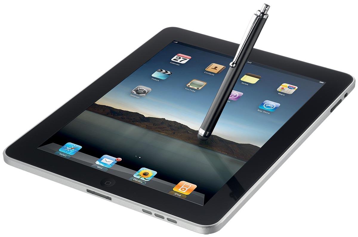 Trust stylus voor tablets en smartphones zwart-3