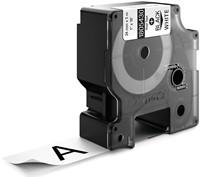 Dymo RHINO vinyltape 24 mm, zwart op wit-2