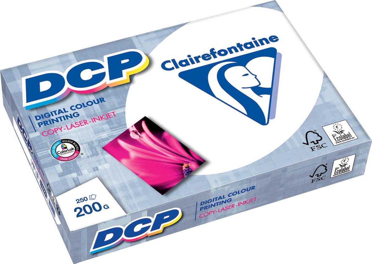 Clairefontaine DCP presentatiepapier ft A3, 200 g, pak van 250 vel