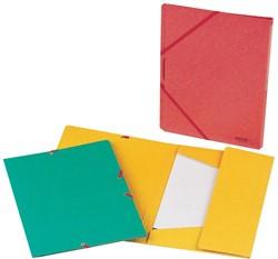 Class'ex elastomap, ft 18 x 24 cm (voor ft A5), met kleppen, geassorteerde kleuren