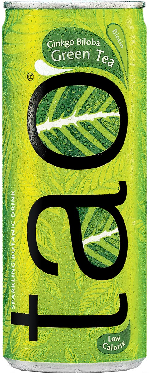 Tao Botanic Green Tea, blik van 25 cl, pak van 24 stuks