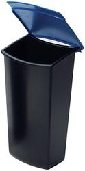 Han papiermand Mondo inzetbakje: blauw (ft 15,8 x 12,4 x 28,4 cm)