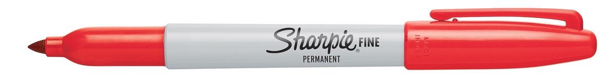 Sharpie Permanent marker Fine rood