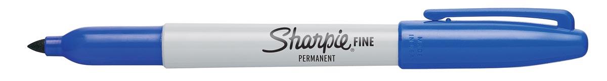 Sharpie Permanent marker Fine blauw