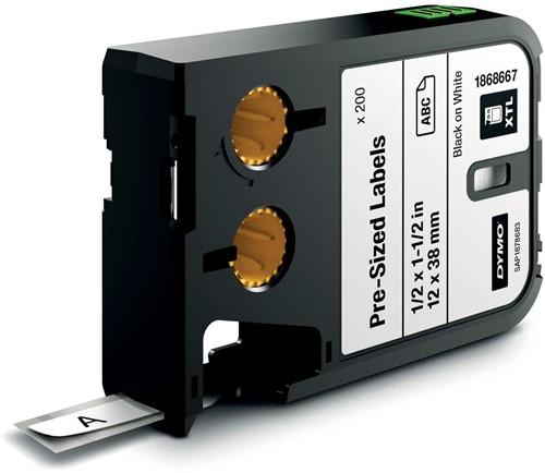 Dymo XTL etiketten ft 12 x 38 mm, 185 etiketten