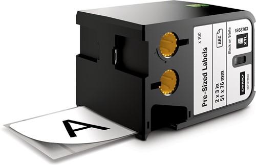 Dymo XTL etiketten ft 51 x 76 mm, 100 etiketten