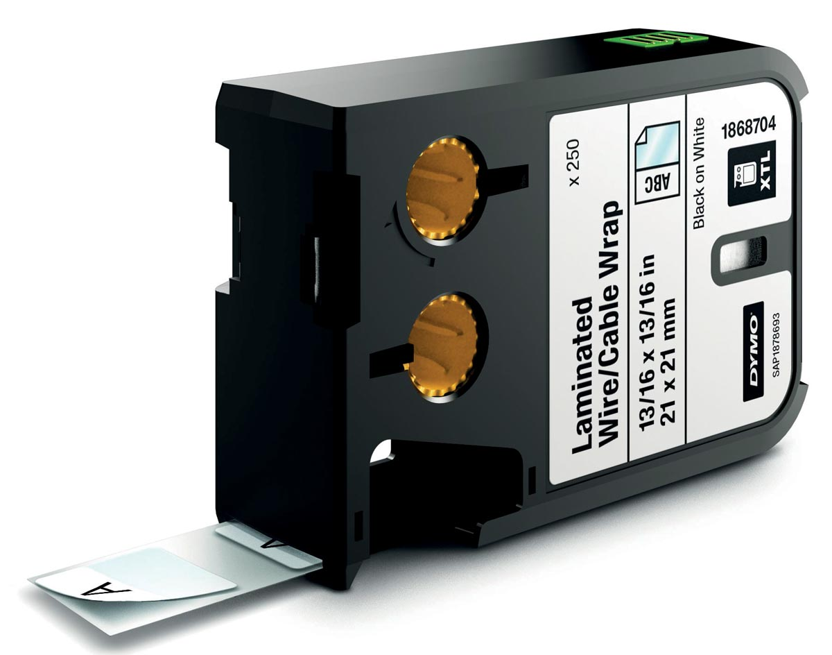Dymo XTL etiketten ft 21 x 21 mm, 250 etiketten