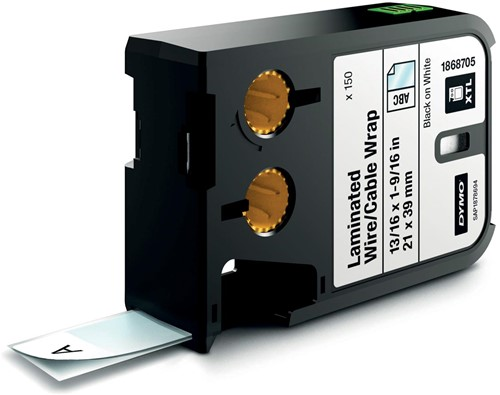 Dymo XTL etiketten ft 21 x 39 mm, 150 etiketten