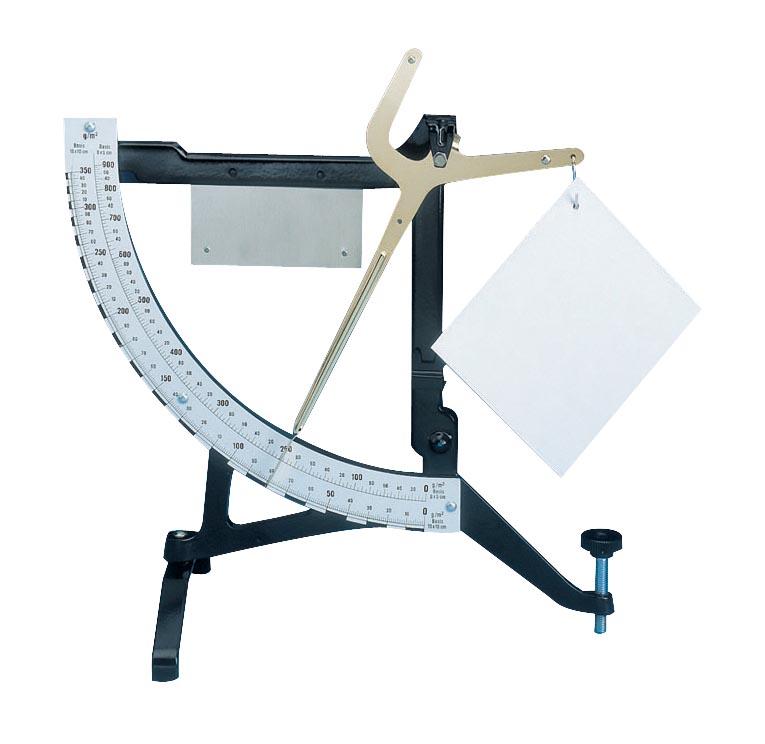 Maul papierweegschaal, weegt tot 900 gram, gewichtsinterval van 1 gram