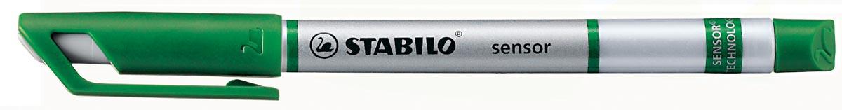 Stabilo fineliner SENSOR (serie 187 - 189), groen