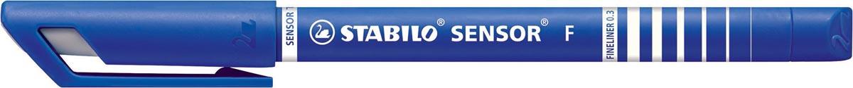 STABILO SENSOR fineliner, 0,3 mm, blauw