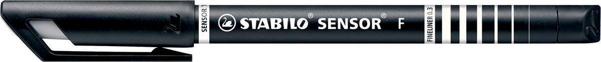 STABILO SENSOR fineliner, 0,3 mm, zwart