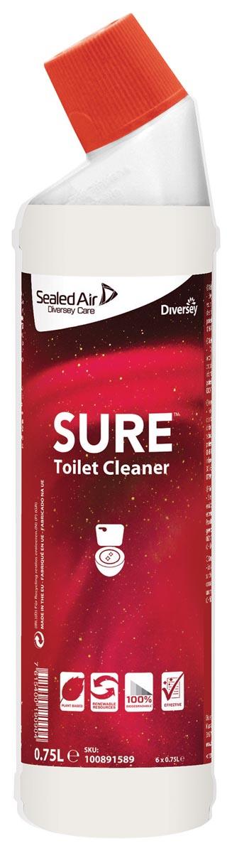 Diversey toiletreiniger Sure, flacon van 750 ml