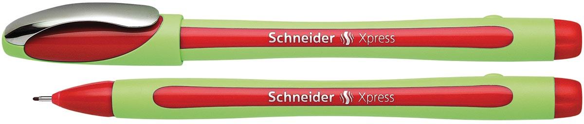 Schneider Fineliner Xpress rood