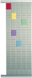 Nobo planbordpaneel index 1, 32 vakjes, ft 66 x 3,2 cm