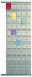 Nobo planbordpaneel index 1,5, 32 vakjes, ft 66 x 4,8 cm