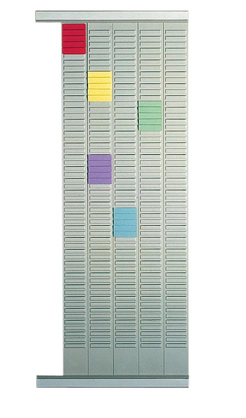 Nobo planbordpaneel index 2, 54 vakjes, ft 96 x 6,4 cm