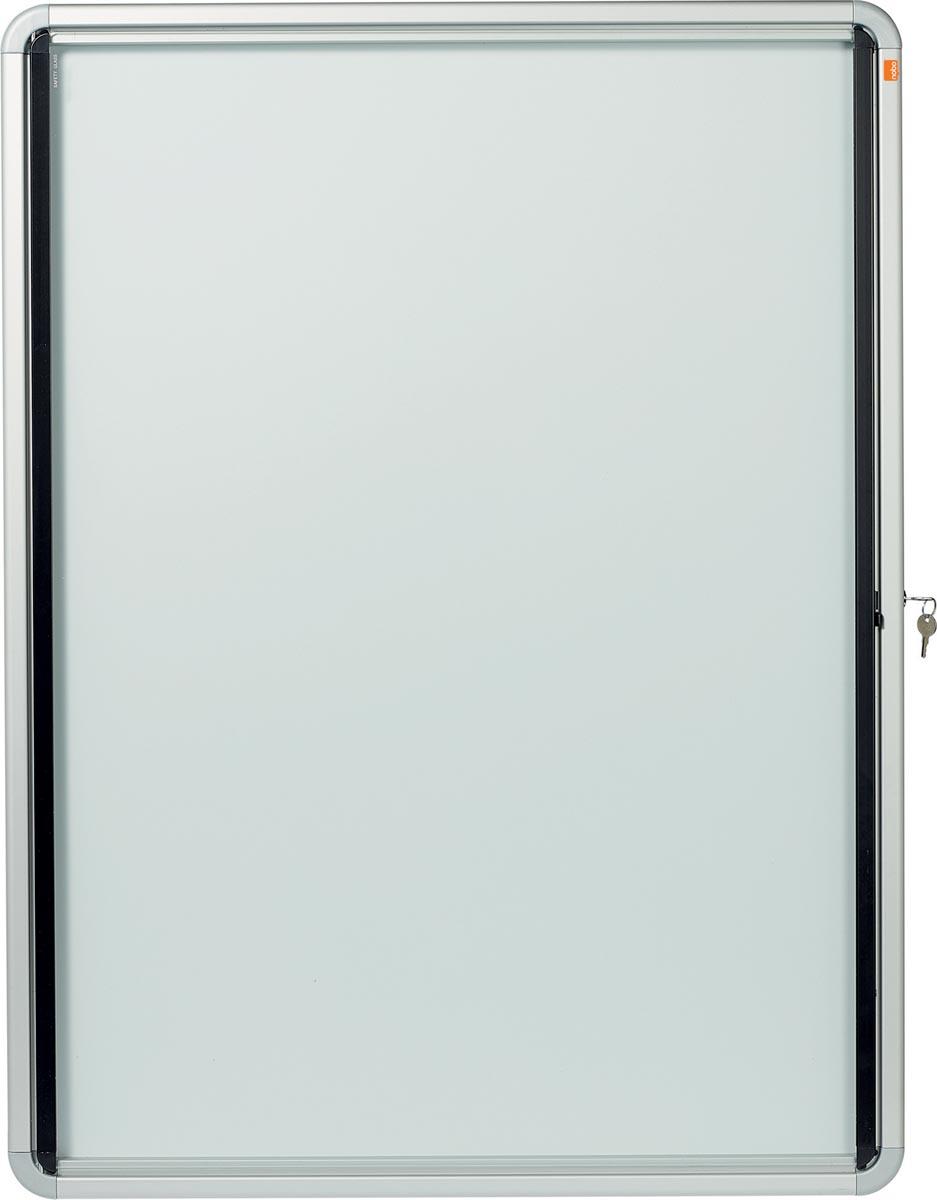 Nobo buitenvitrine, voor 9 x A4, ft 75,2 x 4,5 x 100 cm