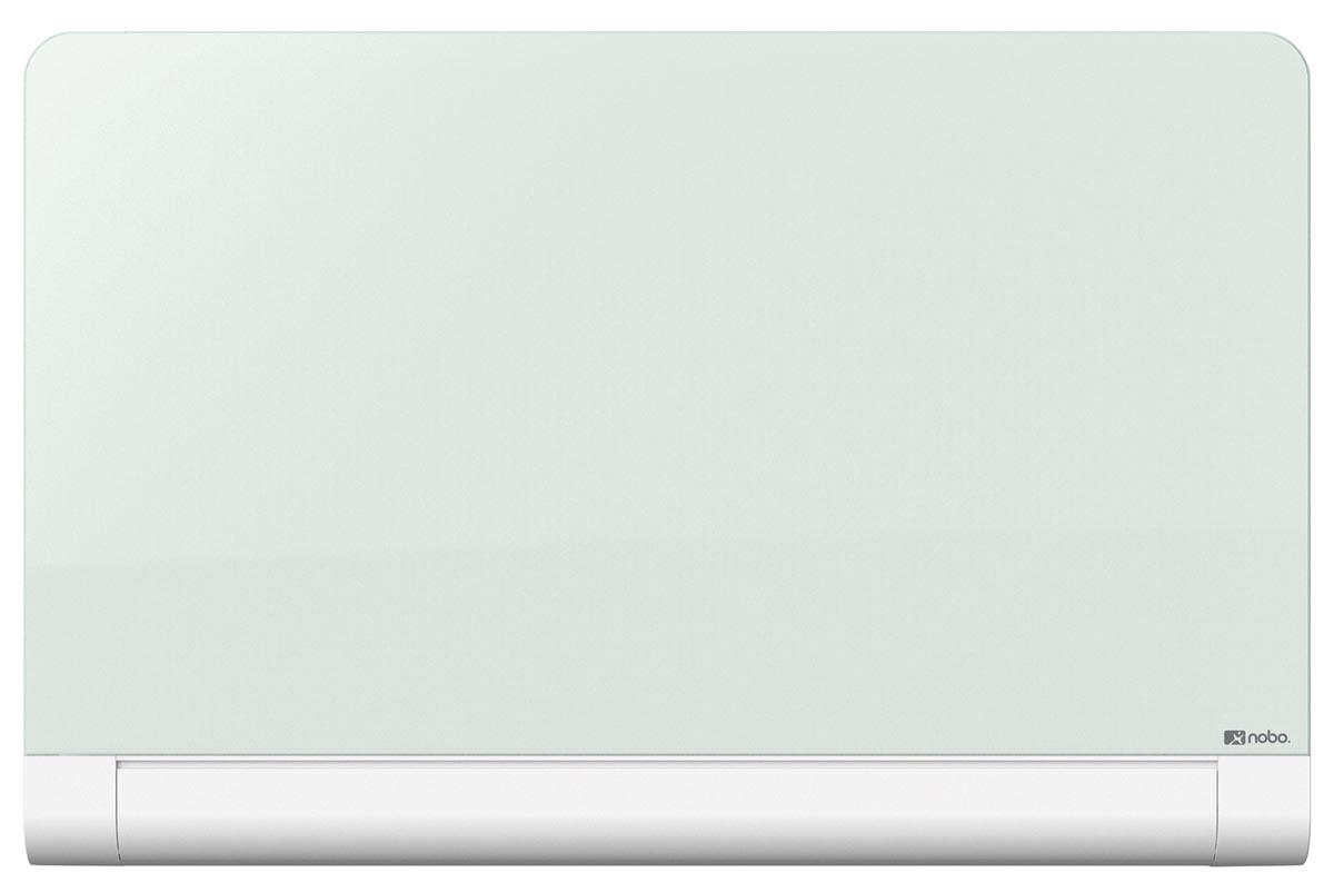 Nobo Diamond glasbord met pennengoot ft 99,3 x 55,9 cm