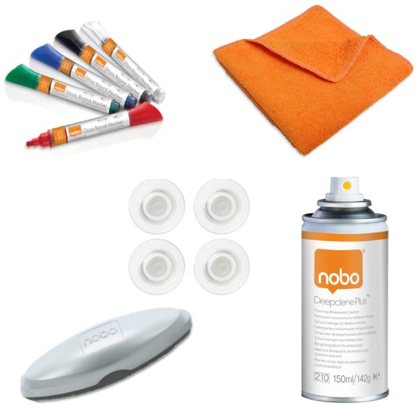 Nobo Premium glasbord starterkit