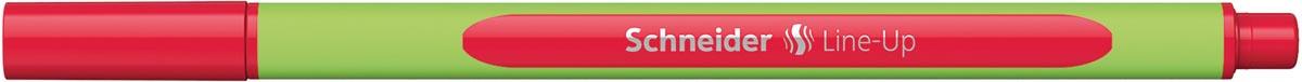 Schneider fineliner Line-Up, rood