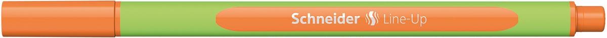 Schneider fineliner Line-Up, oranje