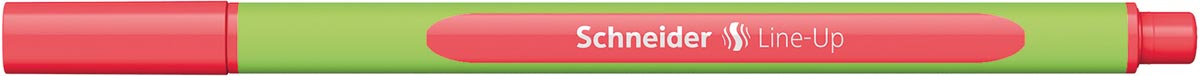 Schneider fineliner Line-Up, fluo rood
