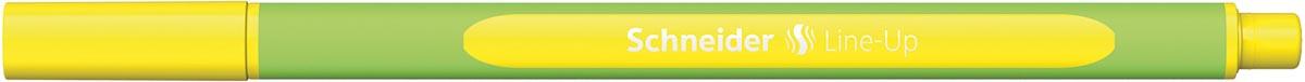 Schneider fineliner Line-Up, fluo geel