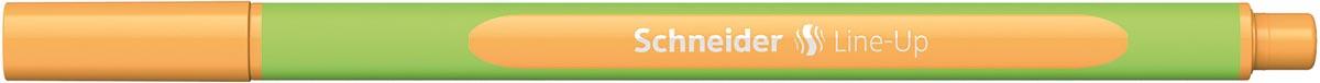 Schneider fineliner Line-Up, fluo oranje