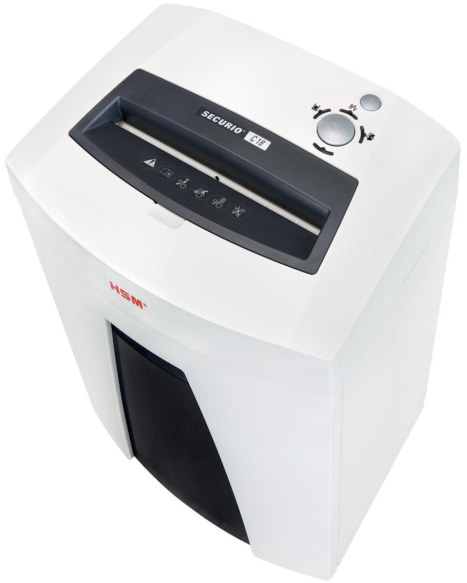 HSM SECURIO C18 papiervernietiger, 5,8 mm