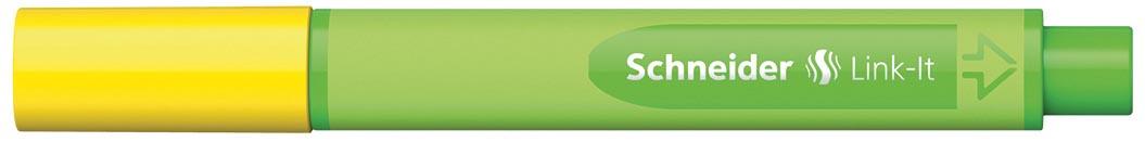 Schneider fineliner Link-it goudgeel