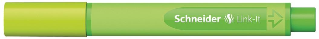 Schneider fineliner Link-it appelgroen