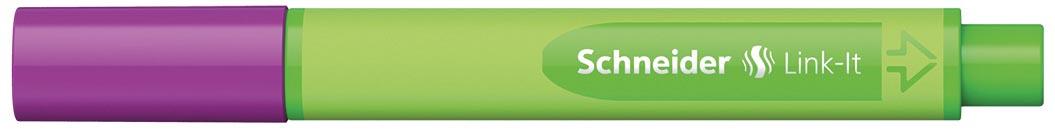 Schneider fineliner Link-it elektrisch paars
