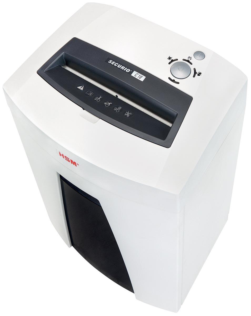 HSM SECURIO C18 papiervernietiger, 3,9 x 30 mm