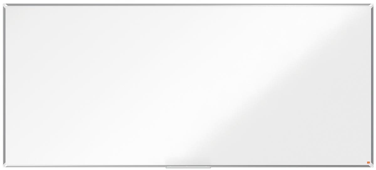Nobo Premium Plus magnetisch whiteboard, emaille, ft 270 x 120 cm