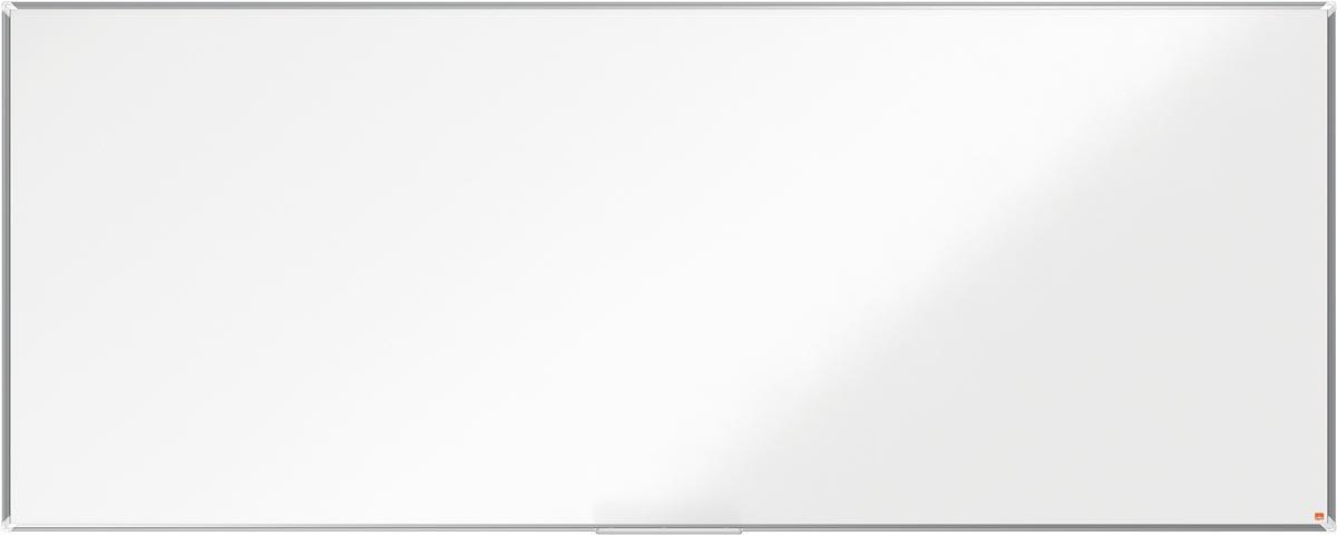 Nobo Premium Plus magnetisch whiteboard, emaille, ft 300 x 120 cm