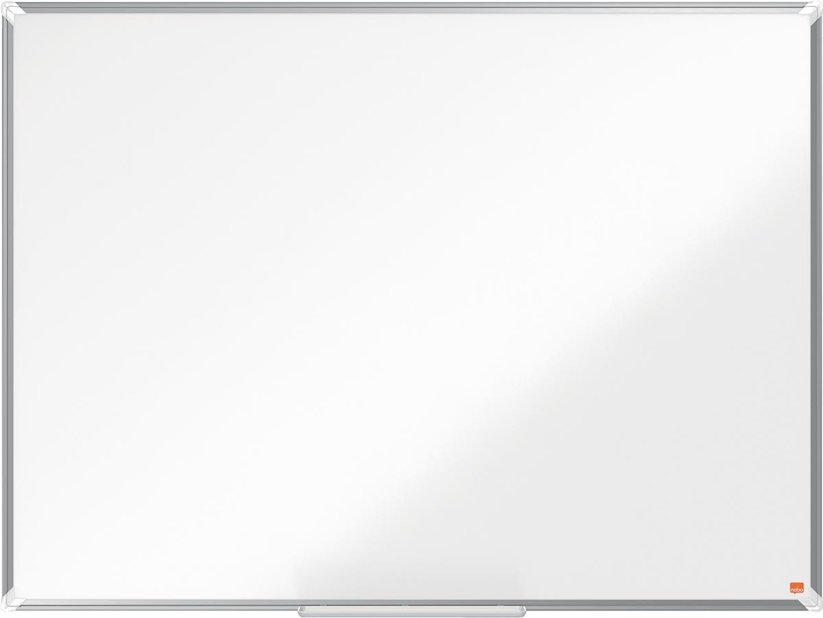 Nobo Premium Plus magnetisch whiteboard, gelakt staal, ft 120 x 90 cm