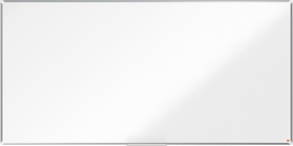 Nobo Premium Plus magnetisch whiteboard, gelakt staal, ft 240 x 120 cm