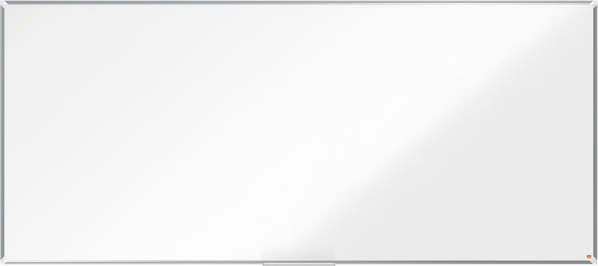 Nobo Premium Plus magnetisch whiteboard, gelakt staal, ft 270 x 120 cm