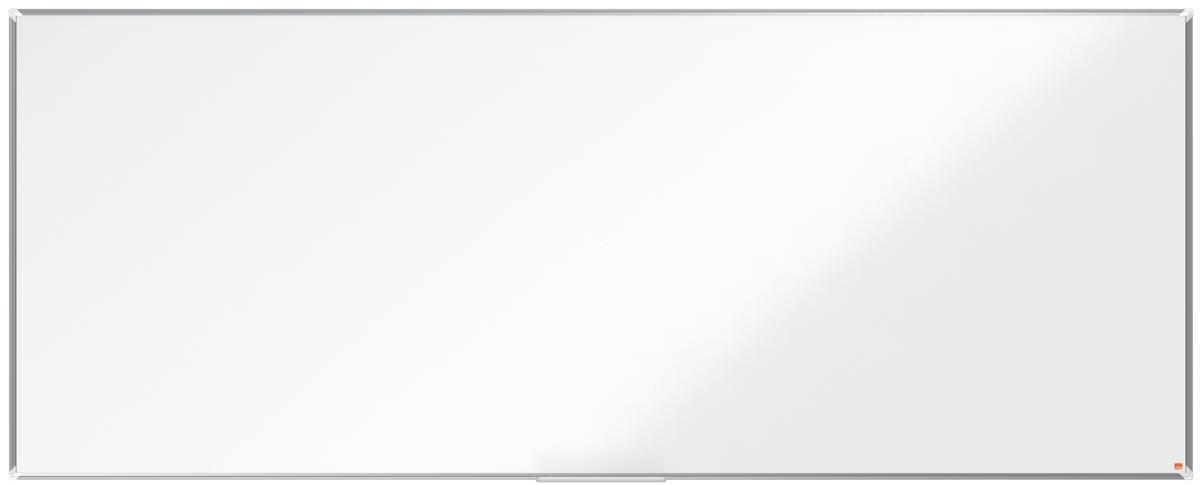 Nobo Premium Plus magnetisch whiteboard, gelakt staal, ft 300 x 120 cm