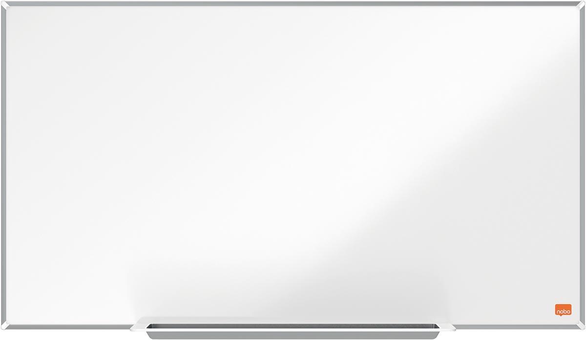 Nobo Impression Pro Widescreen magnetisch whiteboard, Nano Clean stalen oppervlak, ft 71 x 40 cm