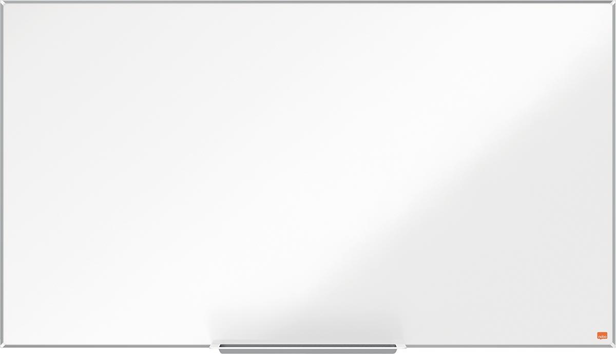 Nobo Impression Pro Widescreen magnetisch whiteboard, Nano Clean stalen oppervlak, ft 122 x 69 cm
